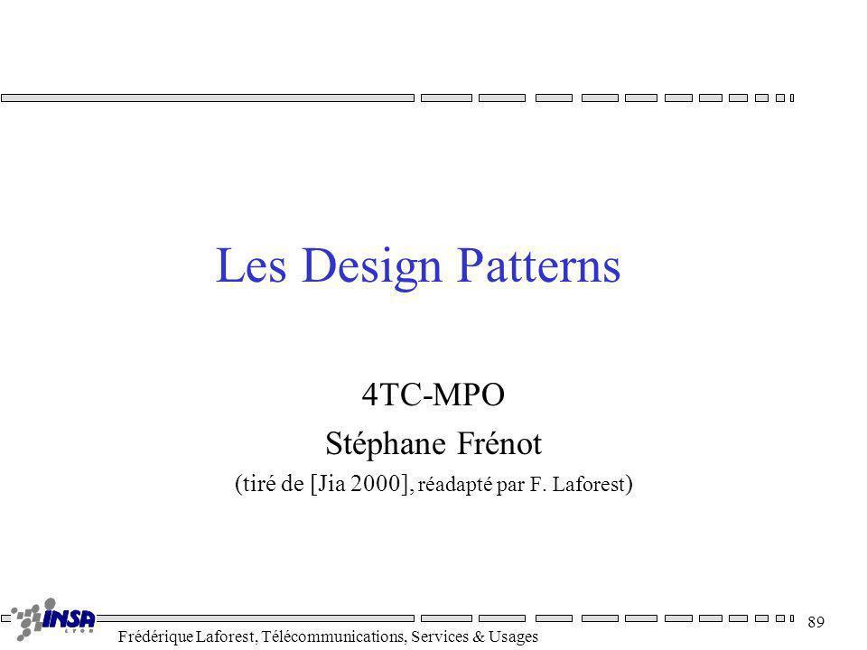 4TC-MPO Stéphane Frénot (tiré de [Jia 2000], réadapté par F. Laforest)